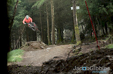 Photos of Bren riding the tracks at Gawton on one of his training day.