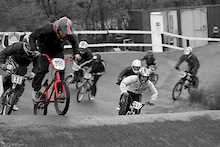 me in 1st at bmx regional  bristol round 1 www.urbancycles.co.uk